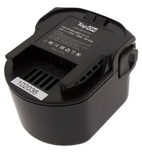 Аккумулятор для AEG BBM, 12V, 1.5Ah, Ni-Cd, TopOn