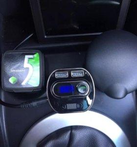 Fm модулятор Car FM Transmitter 8in1