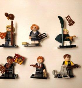 Lego minifigures Harry Potter/Fantastic Beasts