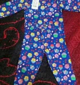 Пижама детская 92см