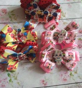 Банты нарядные для принцесс