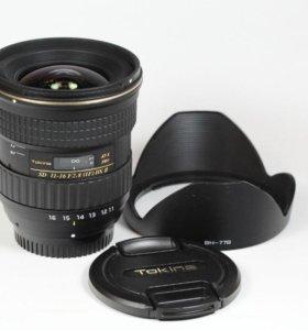 Tokina 11-16 mm f/2.8 PRO DX II для Canon