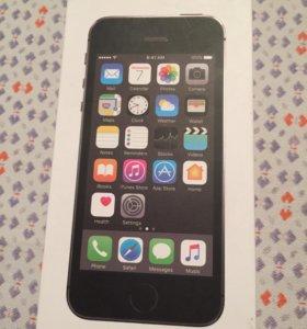 Коробка для iPhone 5s