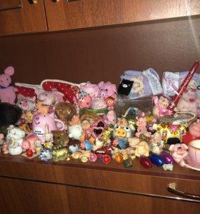 коллекция свинок