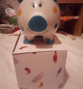 Копилка свинка символ нового года