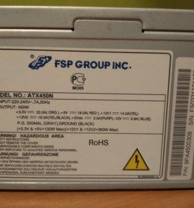 Блок питания fsp atx450n