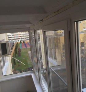 Остекление балконов,Окна,панорамное остекление