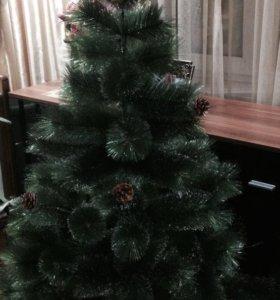 Искусственная новогодняя елка (сосна)