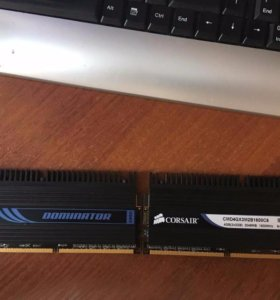 Оперативная память Corsair Dominator 4gb