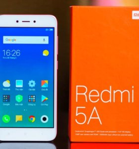 Xiaomi redmi 5a розовое золото