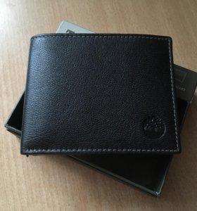 Новый кожаный кошелёк Timberland