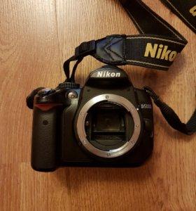 Зеркальный фотоаппарат Nikon D5000 body