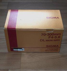 Sigma 70-300 DL makro super