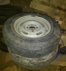 Колёса, диски, шины