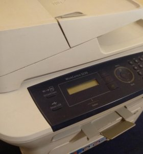 Лазерное мфу Xerox 3220 принтер, копир, сканер