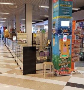 Автомат по продаже кислородных коктейлей OxyVend