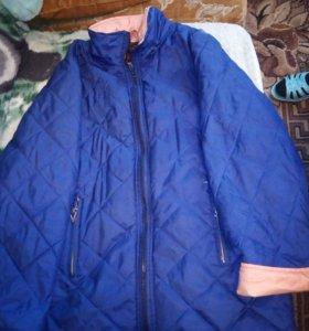 Женская легкая курточка.р50,52