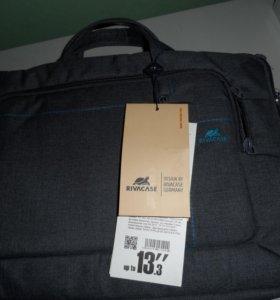"""Новый кейс для ноутбука до 13"""" Rivacase 7520 Gray"""
