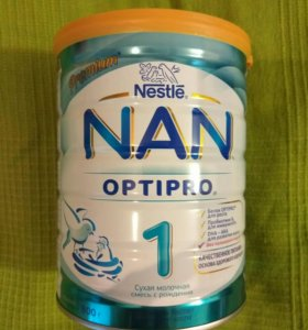 NAN optipro 1 молочная смесь