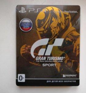 Gran Turismo Sport Steelbook (Рус) Эксклюзив PS4