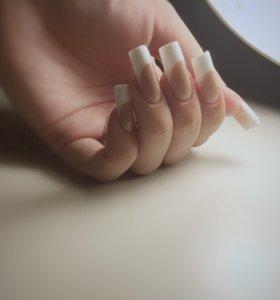 Наращивание ногтей.Кузнечики