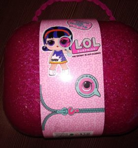 """Кукла LOL чемодан большой BIG """"Секретная сумочка"""""""