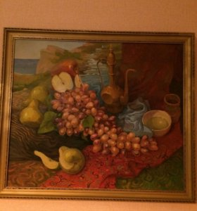Картина маслом на холсте Натюрморт