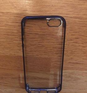 Чехол силиконовый для iPhone 5,5S, SE. Новый.