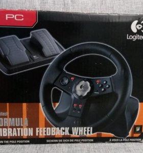 Игровой руль Logitech Formula