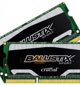 Модуль памяти для ноутбука 4 Гб Crucial 1866MHz