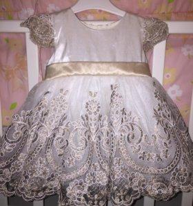 Платье пышное на годик