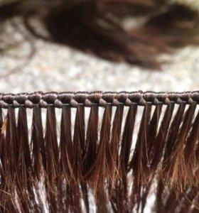Наращивание волос, изготовление тресса обучение