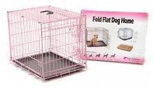 Большая розовая клетка для собак или кошек