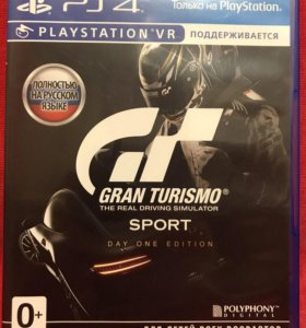 Игра PS4 - Gran Turismo Sport: Day One Edition
