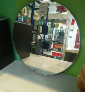 Зеркало круглое диаметр 34см