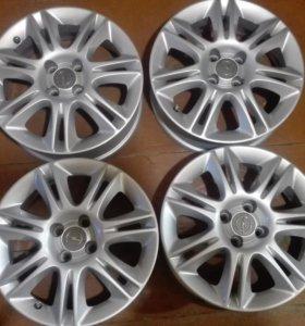 Оригинальные литые диски R16 Opel Corsa D
