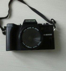 Винтажный пленочный фотоаппарат HENRYCON