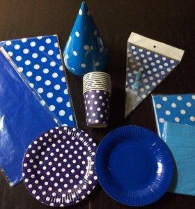 Посуда для праздника одноразовая