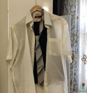 🔴мужской костюм + рубашка и галстук
