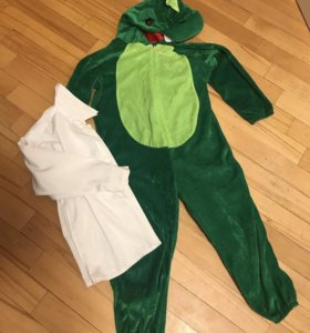 Крокодил 🐊 пижама/маскарад+ рубашка 🎁 , 5-7лет