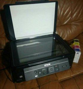Принтер мфу epson xp-303 с снпч Цветной