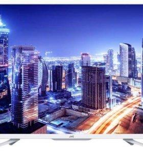Телевизор LED JVC LT-32M350W белый
