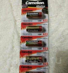 Батарейки А23 camelion 12 вольт