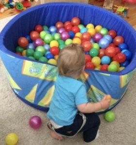 Бассейн с шариками для квартиры