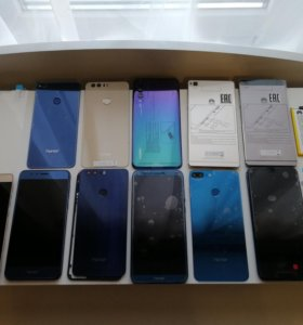 Запчасти Huawei P9, P20 Pro, Honor 8, honor 9 lite