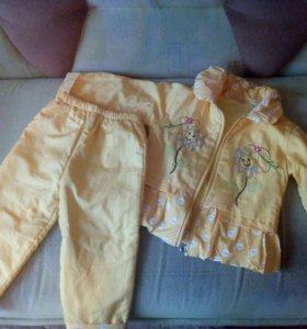 Вещи пакетом для девочки 1-2лет