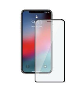 Защитное стекло iPhone XMax XR XS