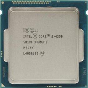 Продаю процессор Intel Core i3-4350
