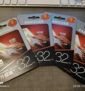 MicroSD Samsung Evo Plus 32Gb (оригинал)