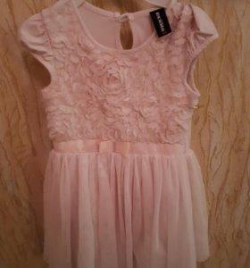 Платье на девочку рост 110
